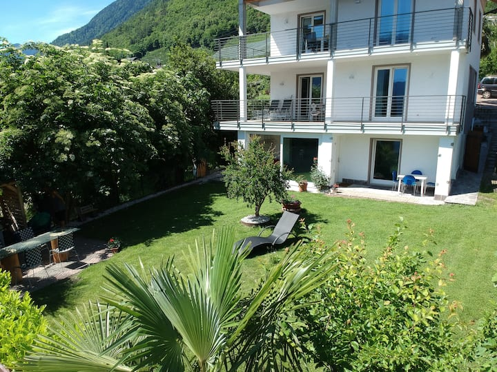 New apartment  with garden in 'hoch Marling'