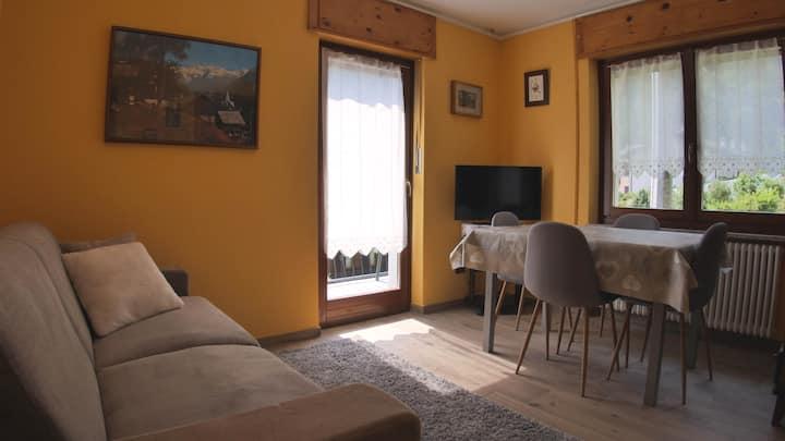Confortevole appartamento nella valle del Cervino