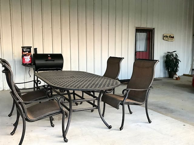 No picnic, then how about grilling outside?