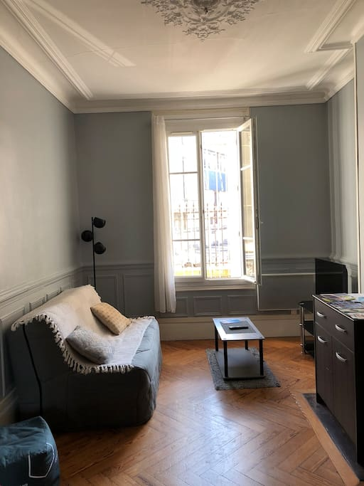 beau studio type ancien tout confort nice flat appartements louer le havre haute. Black Bedroom Furniture Sets. Home Design Ideas
