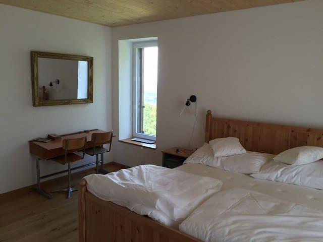 Chambres d'hôtes - L'Oiselière, (Roche-d'Or), Room - Le Pic Vert (1 to 2 people)