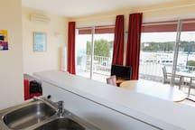 Appartement T2 avec Vu imprenable sur l'Odet