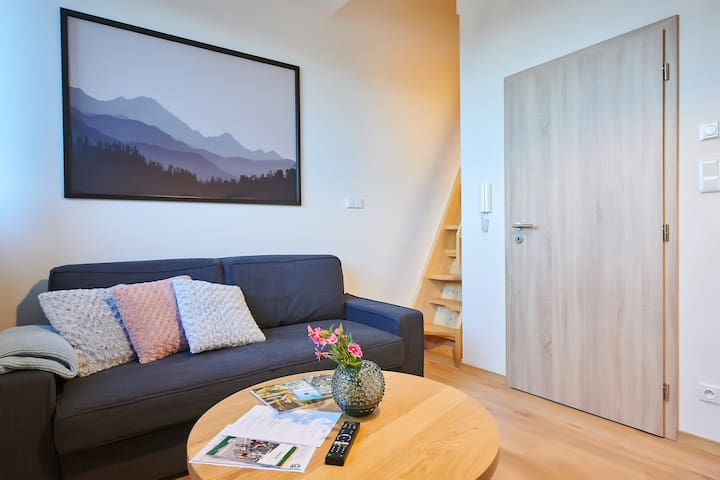 Beautiful Modern Apartment in Sumava National Park