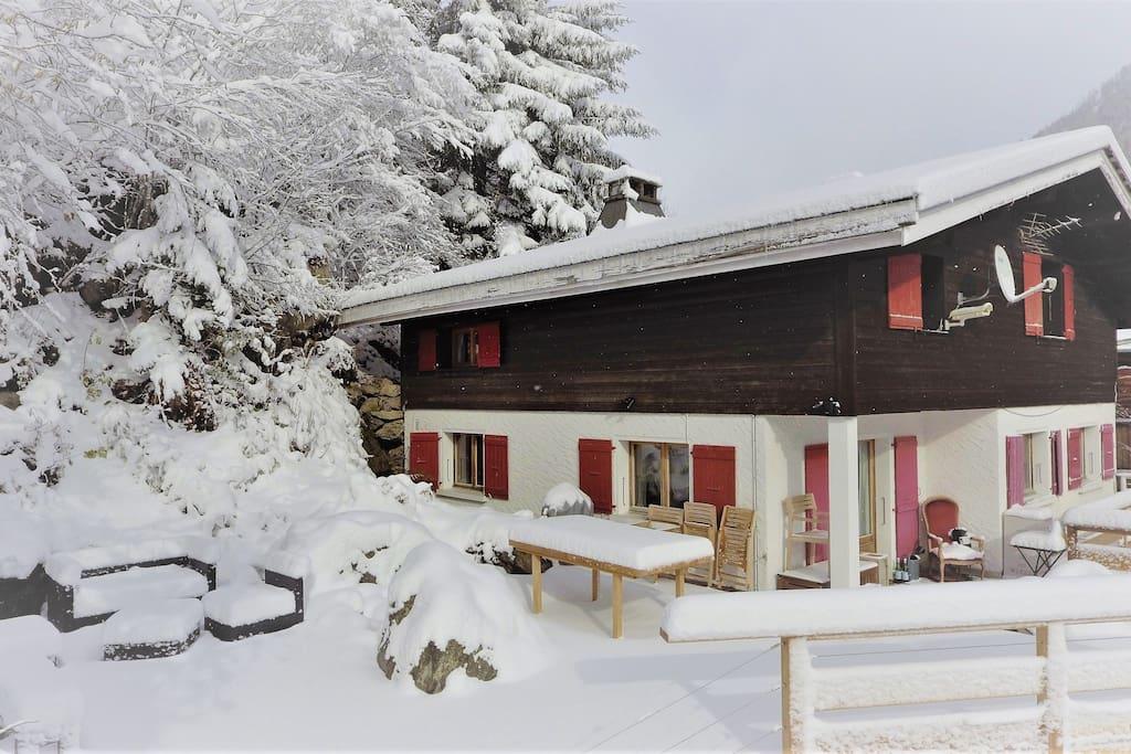 First snow, November 2017