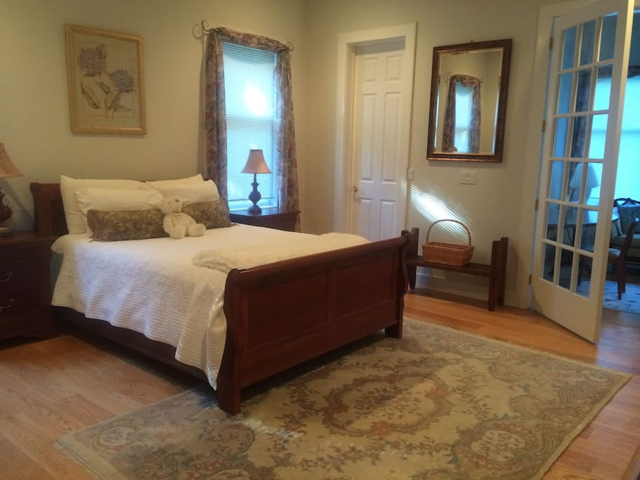 Spacious first floor master suite