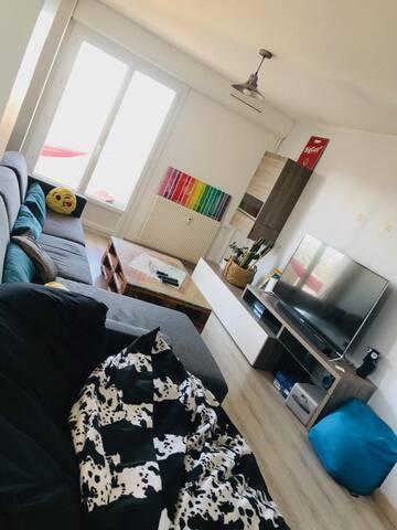 Salon confortable