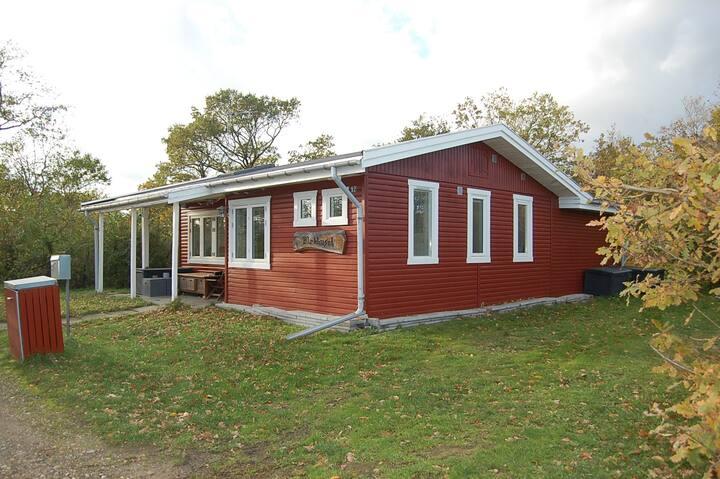 Charmerende, RENT svenskrødt sommerhus lukket have