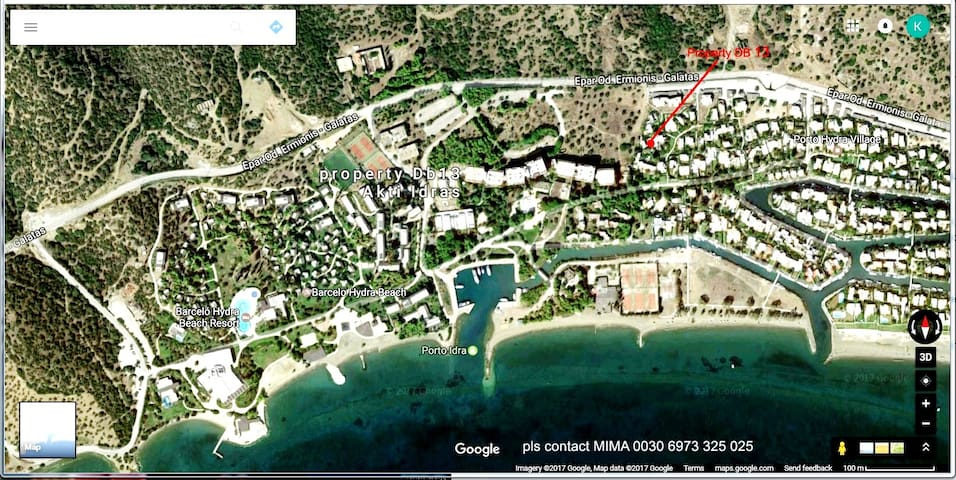 Amazing Porto Hydra village, property ΔΒ 13