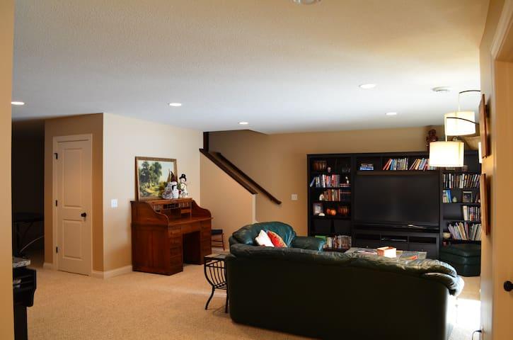 Bedroom + Full Bath + Living Space