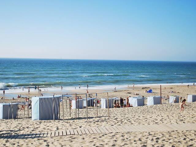 Maison à 100m de la plage!