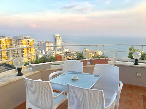 The Highest Panorama in Durres + Quiet Atmosphere