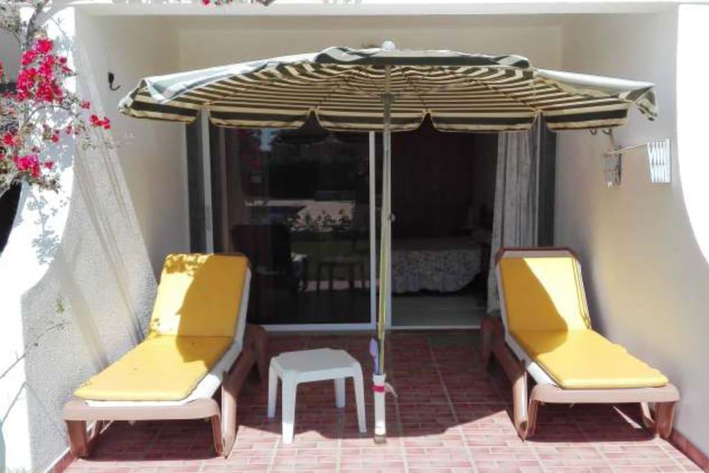 terraço quarto