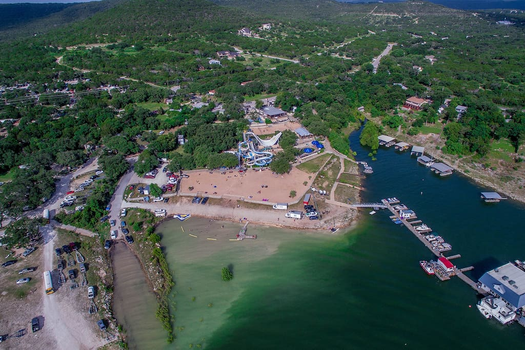 Great Venue on Lake Travis