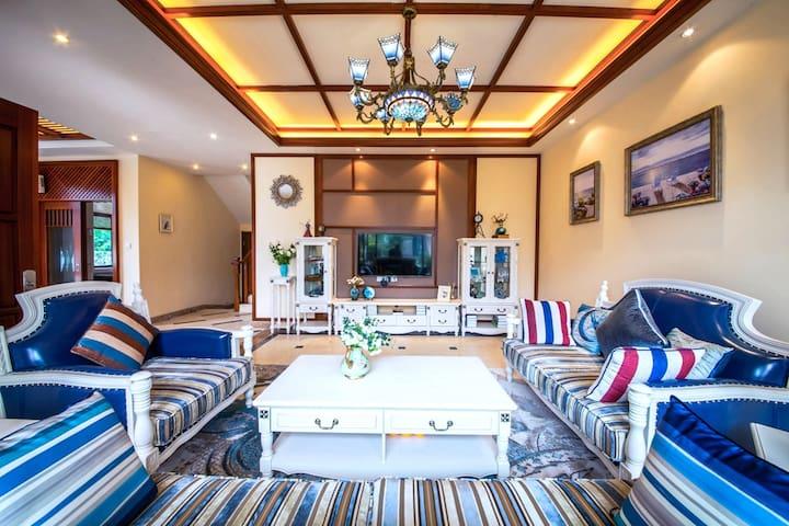 惠州十里银滩海景度假别墅-聆海阁(町格微旅) - Huizhou - Villa