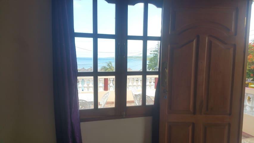 Beach Balcony @La Playita,La Boca Trinidad