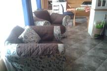 sala de estar...comedor y living