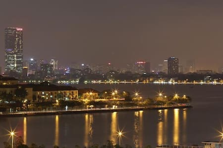 A warm community with superb view of West lake. - Hanoi