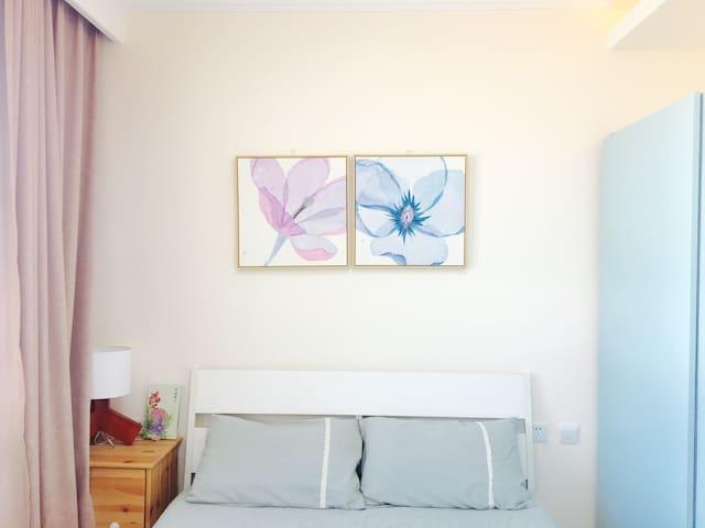 北卧室,150x200床,崇礼野花主题