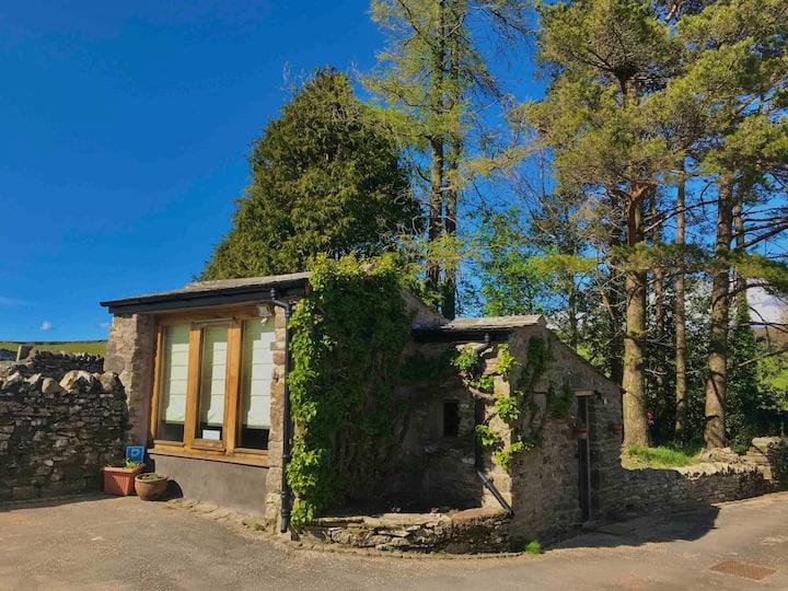 Brackenber Byre cosy cabin & garden in the Dales