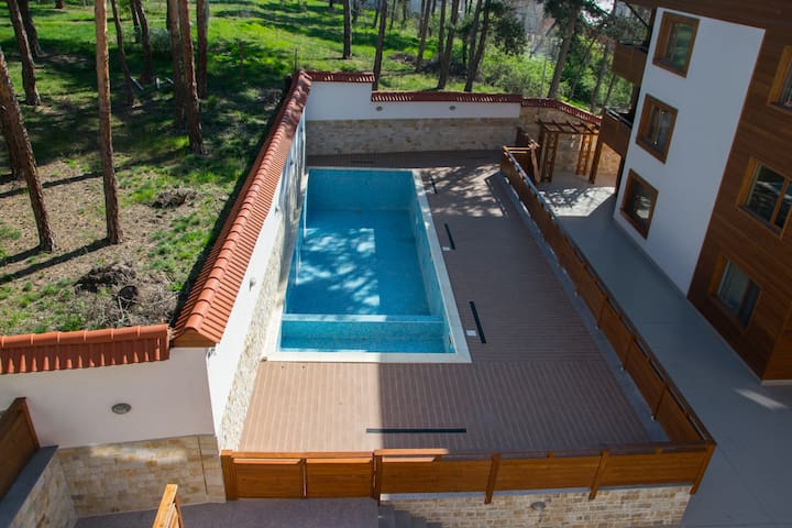 Luxury Apartment with outside pool. - Velingrad - Wohnung