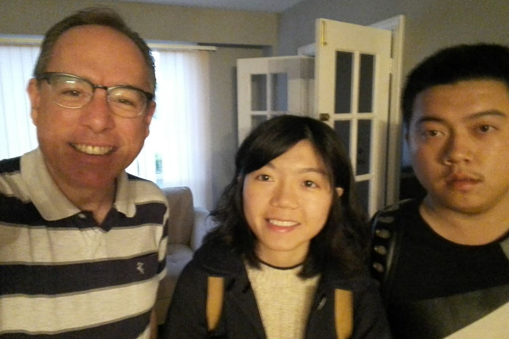 It was such a pleasure to host this two siblings of San Francisco, very clean, totally repectful of the rules of the house, quiet and peaceful people. Hope they will come back soon...
