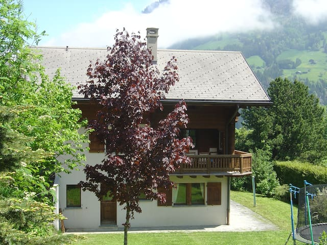 Apartment in chalet with great view - Champéry - Apartment