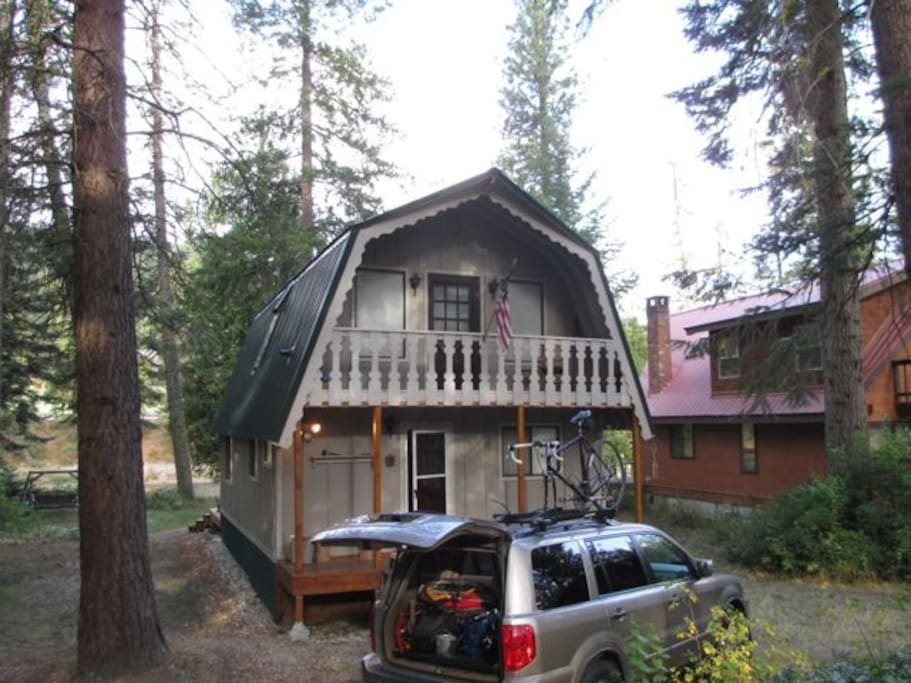 Riverside cabin in plain wa cottages for rent in for Leavenworth cabin rentals
