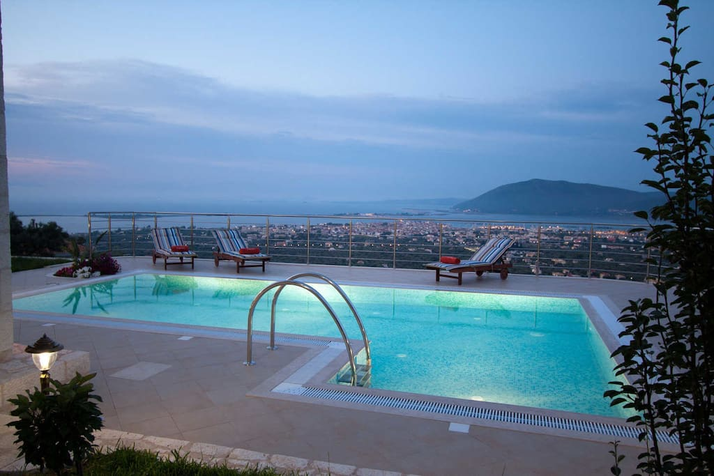 Amazing landscape and pool view