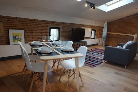 Appartement style loft 4 pers. Blagnac - Airbus - Beauzelle - 公寓