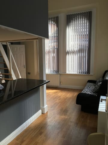 Light & Airy Modern Studio  in heart of 'old town' - Hull - Apartemen