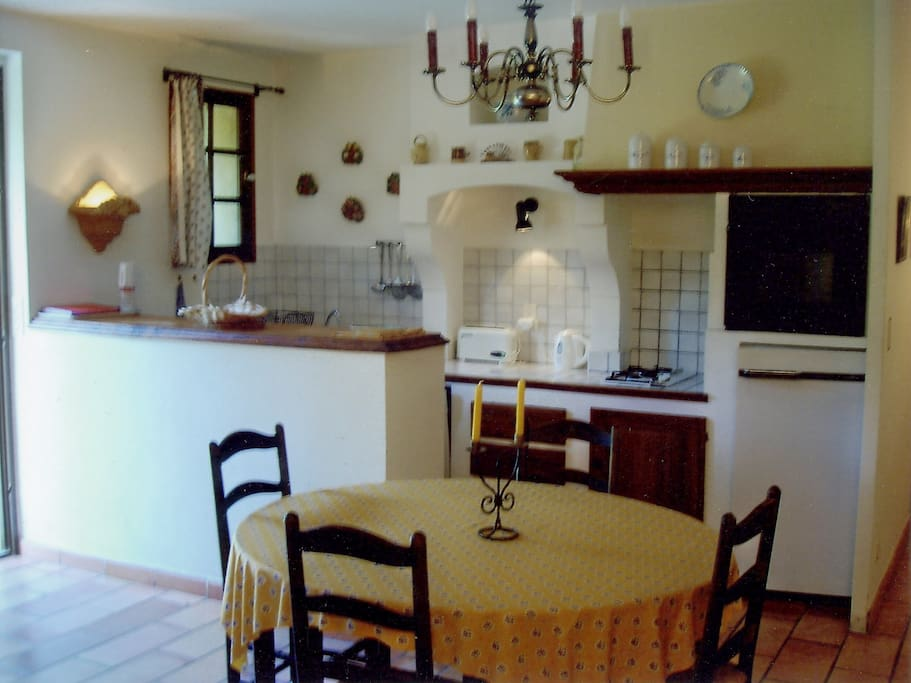 un intérieur décoré à la provençale..§