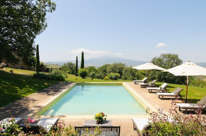 FARMHOUSE  TUSCANY in Pienza | Orio - Montepulciano