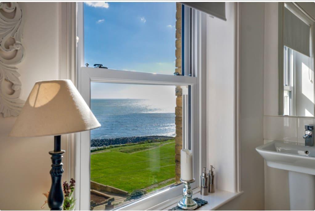 Master bedroom stunning sea views