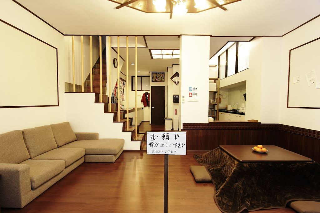 一樓公共區域的大廳