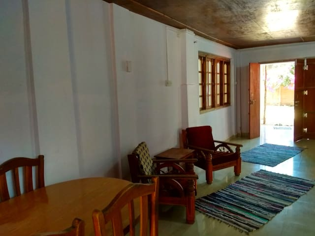 Big Fish House Living Room- Palolem Beach South Goa