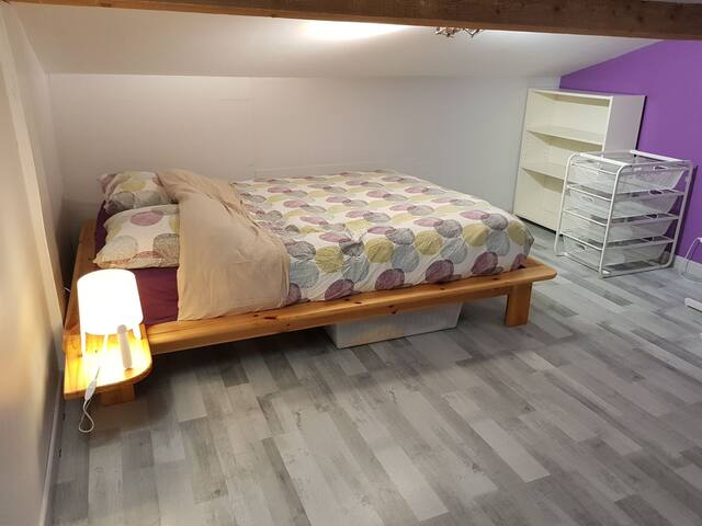 Charmant espace privé / 2 chambres St Juery (Albi)