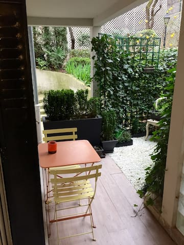 Cosy flat with terrace in Paris 17e - Paris - Apartment