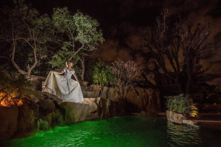 The Enchanted Manor  Hidden Oasis