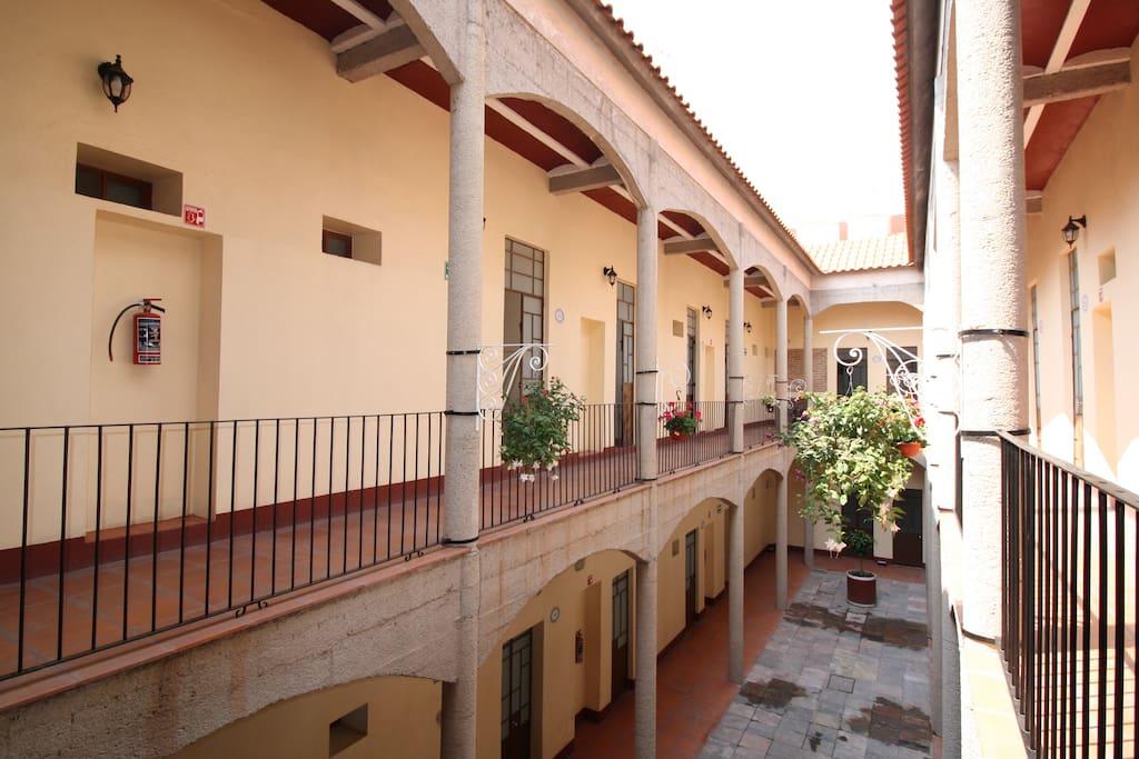patio segundo piso