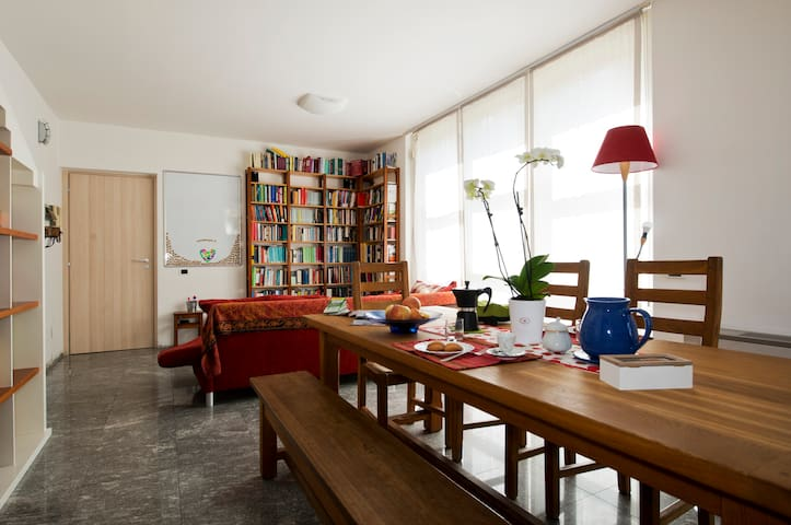 Super Apartment+Kitchen+Garden - Cernusco sul Naviglio - アパート