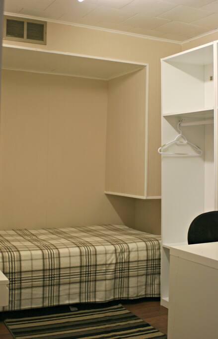 Bed location Option 1