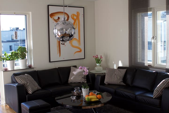 Top floor, lovely bright apartment - Göteborg - Apartmen
