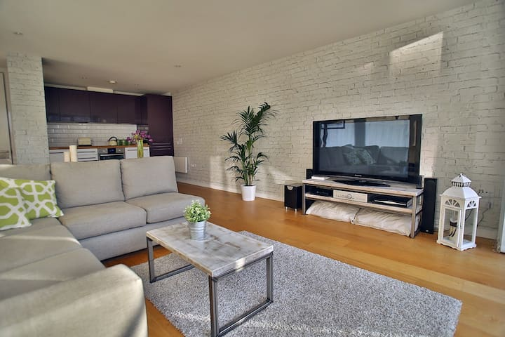 Modern Apartment With Roof Garden - Bristol - Apartament