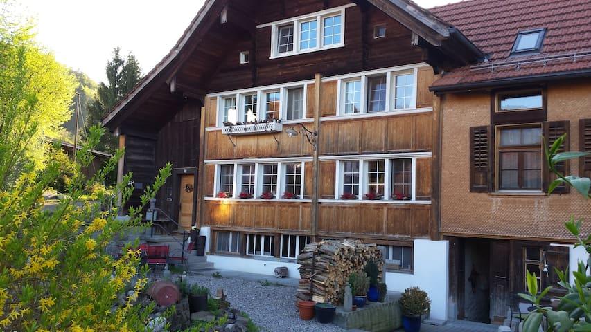 Bauernhaus mit Bildhauer Ambiente - Lutzenberg - Dom