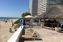 Tiki Bar on the beach