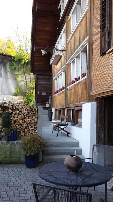 Stilechtes 250jähriges Appenzeller Bauernhaus