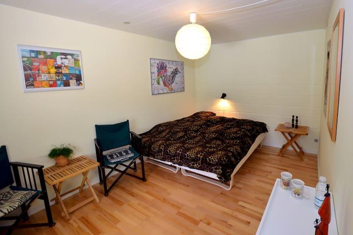 Hyggelig møbleret værelse - Brande - Casa