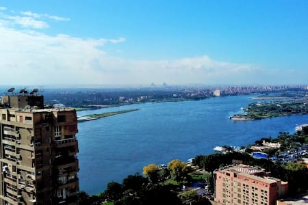 Lovely Flat in Maadi with Nile View