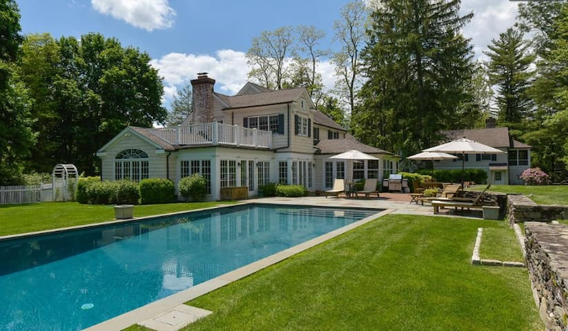 Stunning Chappaqua Property with Swimming Pool
