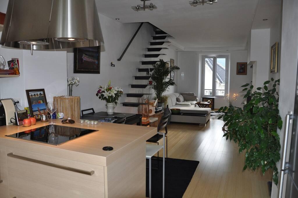 appartement d 39 architectes grenoble byty k pron jmu v grenoble rhone alpes francie. Black Bedroom Furniture Sets. Home Design Ideas